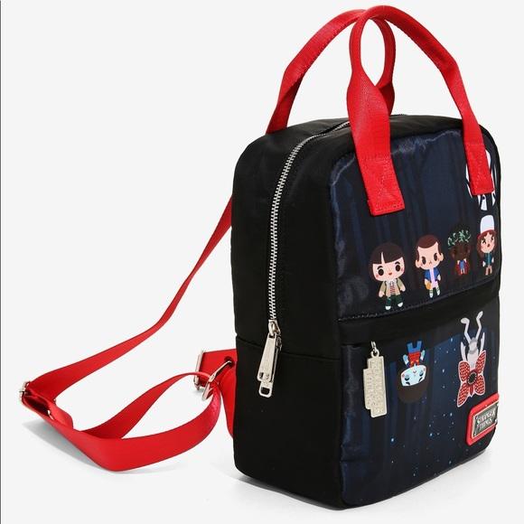 Loungefly Handbags - Stranger Things Upside Down Chibi Mini Backpack